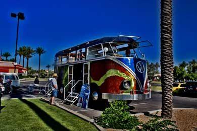 AZ Bus Club At Pavilions Walter The Bus - Scottsdale az car show