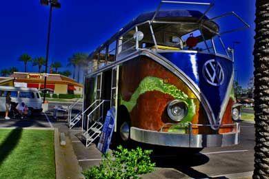 AZ Bus Club At Pavilions Walter The Bus - Pavilions car show